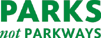 Parks Not Parkways logo
